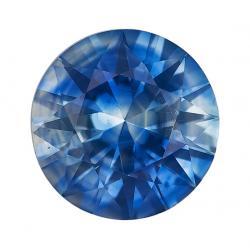 Sapphire Round 0.74 carat Blue Photo