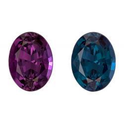 Alexandrite Oval 2.03 carat Purple/Green Photo