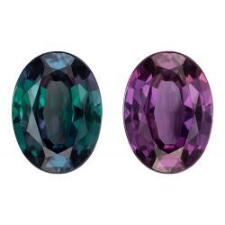 Alexandrite Oval 1.32 carat Purple/Green Photo
