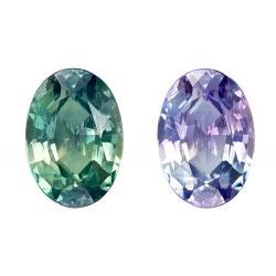 Alexandrite Oval 0.52 carat Purple/Green Photo