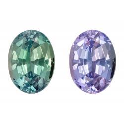 Alexandrite Oval 0.51 carat Purple/Green Photo