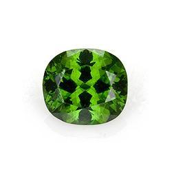 Zircon Cushion 2.53 carat Green Photo