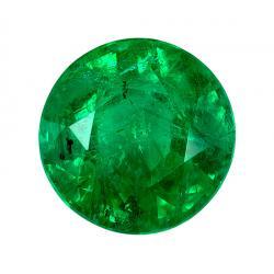Emerald Round 0.93 carat Green Photo