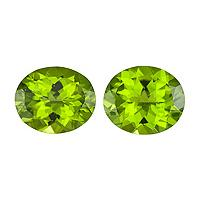 Peridot Oval 4.41 carat Green Photo