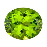 Peridot Oval 7.51 carat Green Photo