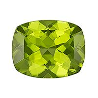 Peridot Cushion 4.00 carat Green Photo