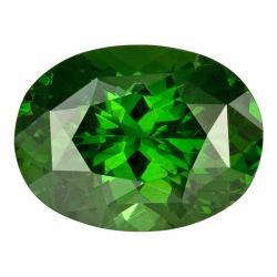 Zircon Oval 3.57 carat Green Photo