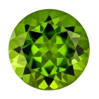 Peridot Round 5.25 carat Green Photo
