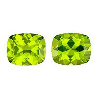 Peridot Cushion 4.91 carat Green Photo