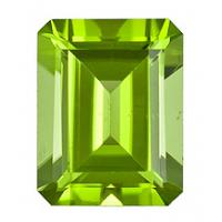 Peridot Radiant 2.43 carat Green Photo