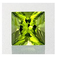 Peridot Square 1.23 carat Green Photo