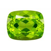 Peridot Cushion 3.42 carat Green Photo