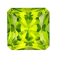 Peridot Radiant 3.64 carat Green Photo