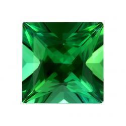 Tourmaline Square 0.75 carat Green Photo
