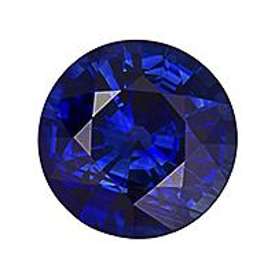 Sapphire Round 2.29 carat Blue Photo