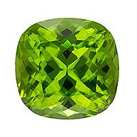 Peridot Cushion 8.30 carat Green Photo