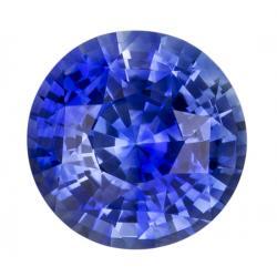 Sapphire Round 2.11 carat Blue Photo