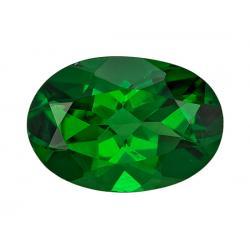 Garnet Oval 0.62 carat Green Photo