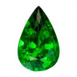 Garnet Pear 0.51 carat Green Photo