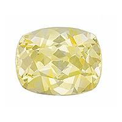 Sapphire Cushion 1.13 carat Yellow Photo