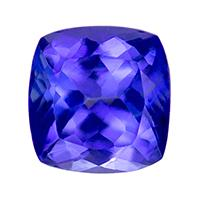 Tanzanite Cushion 0.71 carat Blue Purple Photo