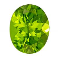 Peridot Oval 3.66 carat Green Photo