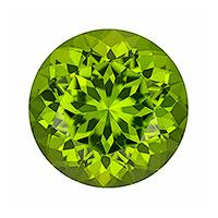 Peridot Round 14.91 carat Green Photo