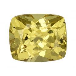 Sapphire Cushion 0.72 carat Yellow Photo