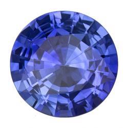 Sapphire Round 1.06 carat Blue Photo