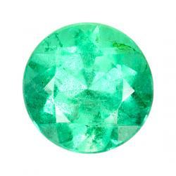 Emerald Round 0.92 carat Green Photo