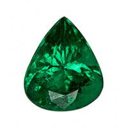 Emerald Pear 0.97 carat Green Photo