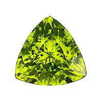 Peridot Trillion 6.51 carat Green Photo