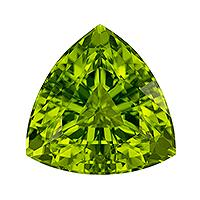 Peridot Trillion 4.89 carat Green Photo