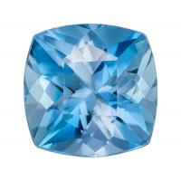 Aqua Cushion 0.60 carat Blue Photo