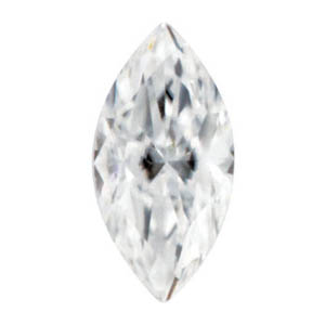 Moissanite Marquise 0.32 carat Colorless Photo