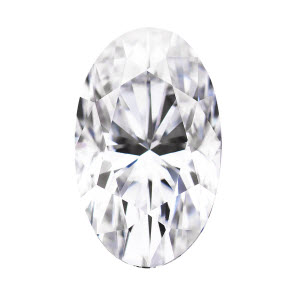 Moissanite Oval 1.20 carat Colorless Photo