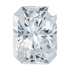 Moissanite Radiant 0.61 carat Colorless Photo