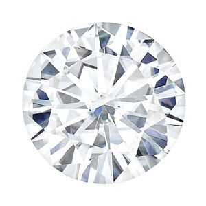 Moissanite Round 0.33 carat Colorless Photo
