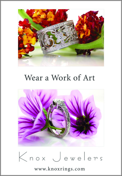 wear a work of art 1 Unique Engagement Rings