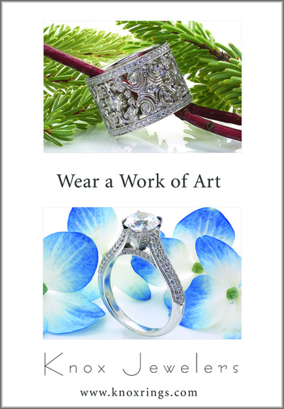 wear a work of art 2 Unique Engagement Rings