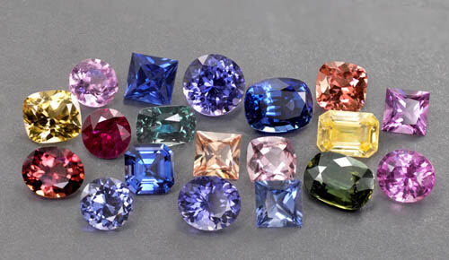 Sapphire engagement rings.