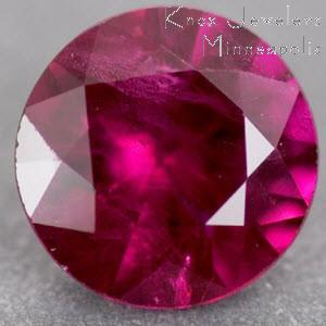 Ruby Round 0.47 carat Red Photo