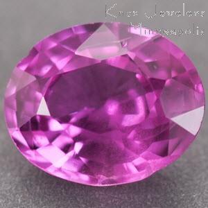 Sapphire Oval 0.97 carat Pink Photo