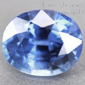 Sapphire Oval  1.05 carat Blue Photo