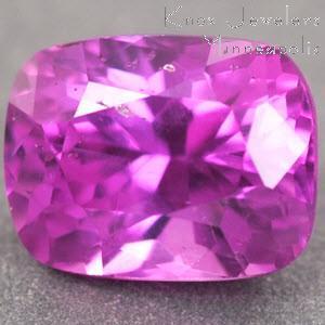Sapphire Cushion 0.71 carat Pink Photo