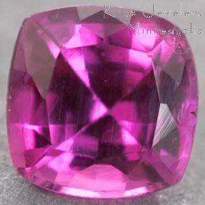 Sapphire Cushion 0.40 carat Pink Photo