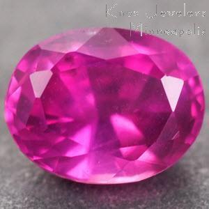 Sapphire Oval 0.39 carat Pink Photo