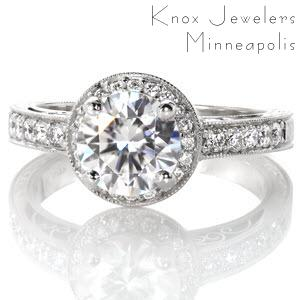 Valencia Hand Engraved Engagement Rings Knox Jewelers