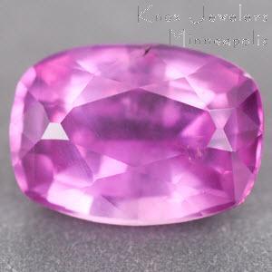 Sapphire Cushion 0.82 carat Pink Photo