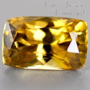 Sapphire Cushion 1.21 carat Yellow Photo